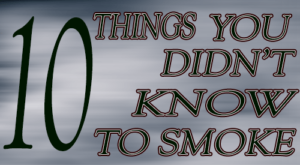 10 food items that you never thought you could smoke! Once you master these items your culinary flavoring world will be enlist.