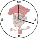 Dr. Smoke's clock for the cooking time required