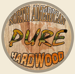 We are 100% North American Hardwoods