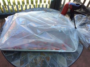 SETTING UP THE SMOKER IN THE BAG