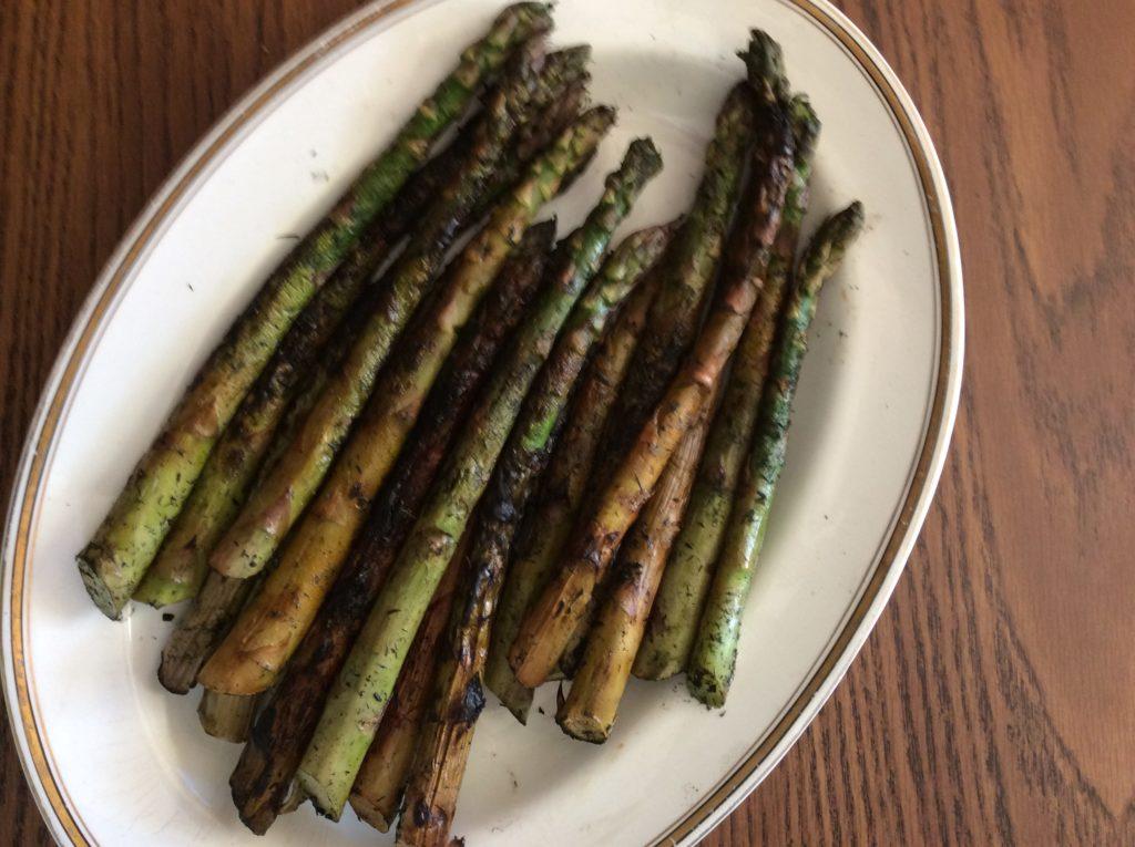 Ember Roasted Asparagus