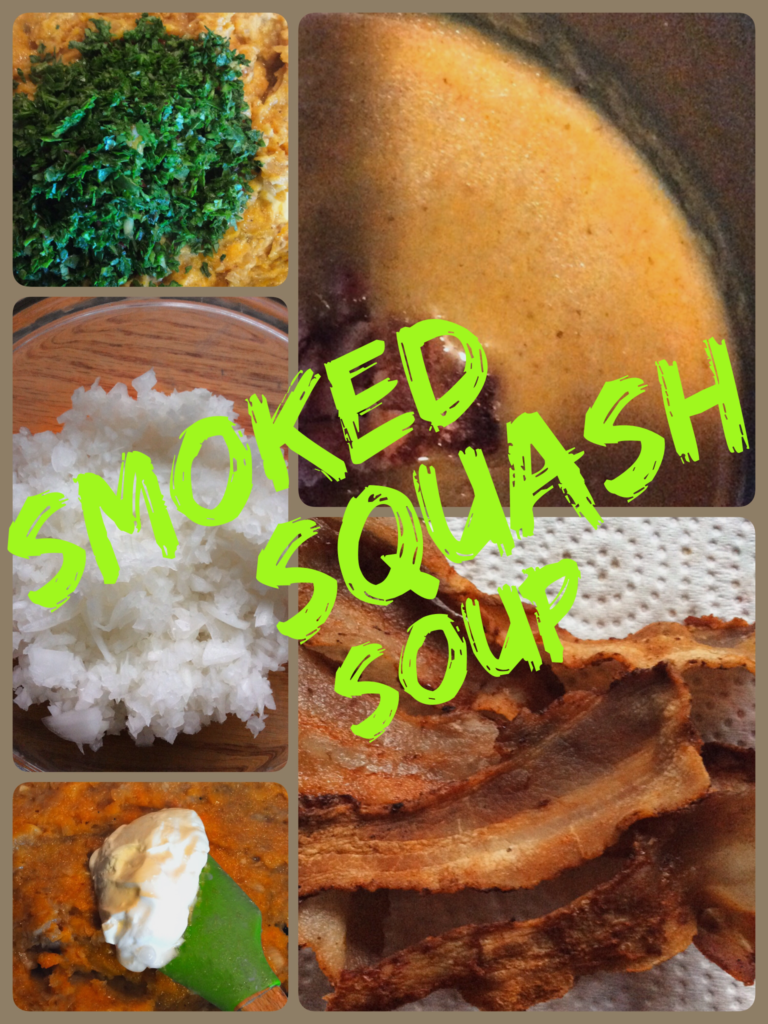 One Taste Will Make You a SMOKED SQUASH & KALE SOUP Believer