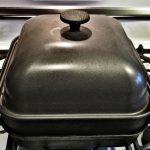 cast iron stove top smoker