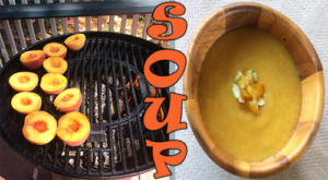 The smoking/grilling is a great way to enhance the flavor of peaches. Then as an ingredient in soup to add a special flavor touch on a hot summer day!