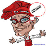 DR. SMOKE HAS A THREE CHEERS FOR STRAWBERRY BELLINI BOTH SWEET & SMOKY