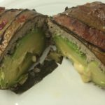 our finished avacado stuffed turkey loaf!