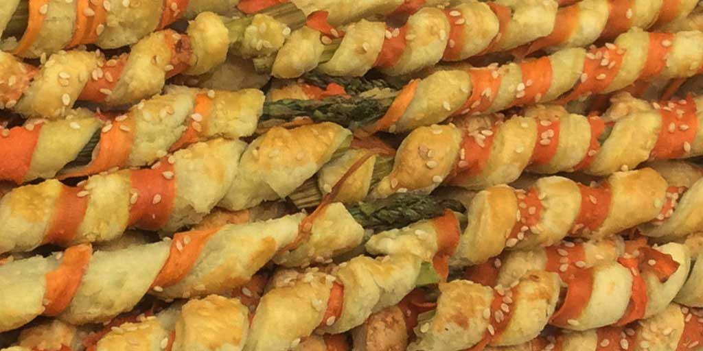 WRAPPED ASPARAGUS WITH A HEALTHY CHOICE - Wood Recipe Blog