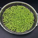 Fresh peas ready for the grill