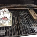 our foil wrapped beets on the grill with a smoker box added a smoke flavor