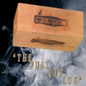 The Smokinlicious® cut smoker logs - full & Quarter especially manufactured with moisture controlled to generate the maximum smoke production!